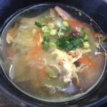 森ん子 - 具だくさんの野菜スープ