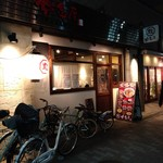 麺 鶴亀屋 - 店構え
