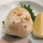 高鮨 - フグの白子焼き。