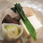 高鮨 - ノドグロの骨蒸し。
