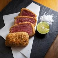 極DINING若旦那 - 牛ヒレ肉のレアカツ