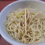 らーめん天神下 大喜 - 替え玉、細麺