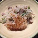 傳 - 鴨と芹のご飯
