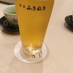 赤坂ふきぬき - 綺麗な泡なのだ♡