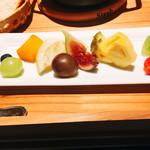 ザ キッチン カンラ - 季節のフルーツ盛り