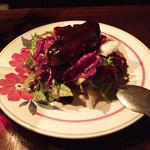 Dame-Jeanne - 鴨のフォアグラサラダ