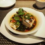 施家菜 - 天然鮮魚の香港風籠蒸し
