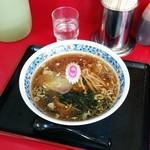 じゃのめ亭 - 料理写真:ラーメン(650円)。ショウガが香るさっぱり中華そばっていう感じ。CPはイマイチ。