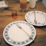 シトロン・シュクレ - お皿がめちゃめちゃ可愛い。