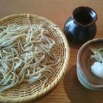 草の子 - ざるそば(税込み780円)