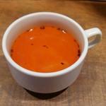ひき肉少年 - 暖かいスープ、キャベツが入っていました
