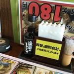 伊豆高原ビール本店レストラン - 卓上