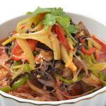 リトル成都 - 春雨と山木くらげのピリ辛サラダ
