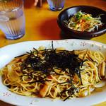 喫茶アベニュー - 料理写真:バター醤油風味の和風スパゲティ