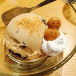 おーくら亭 - きな粉アイス