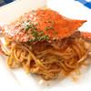 ペティトマト - 料理写真:渡り蟹のリングイーネ