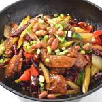 リトル成都 - 手羽先の干鍋