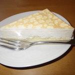 川奈日和 - 料理写真:ミルフィーユ風チーズケーキ