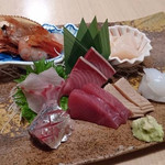 魚ひろ - 2017/1 お刺身盛り合わせ 2人前