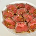 グローストック - 柚子胡椒ローストビーフ