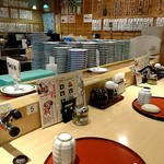 回る寿司 花時計 -