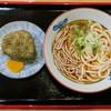 今庄 - 料理写真:「チャンポン」(300円)と「昆布おにぎり」(120円)