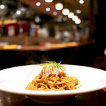 イタリアン・ビストロ・ヒライ - 濃厚!! エビとカニのタリオリーニ (1700円) '16 1月上旬