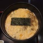 京都 団楽 - 玉子とじ蕎麦