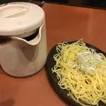 三代目 鳥メロ - 【'16.11月初】〆は酸辣湯麺に