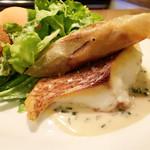 61473918 - 真鯛のポワレと野菜のブリック