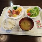 ホテル セントパレス倉吉 - 朝食 2017年1月
