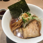 ガガナ ラーメン - 醤油らーめん(中盛)(LINEクーポン500円)
