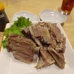 チャハル - 料理写真:塩ゆで骨付きラム肉1200円