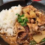 61477363 - ★★★ 黒部名水ポークとゴロゴロ野菜の豚汁風カレー