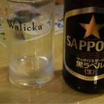 サンサール - 瓶ビール中瓶 600円