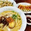 味千ラーメン - 料理写真:味千ラーメン、餃子、炒飯