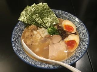 たけいち 渋谷邸 - 特製濃厚醤油鶏そば
