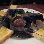 6148278 - ムール貝とアサリのスープ仕立て