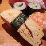 魚がし寿司 - 玉子