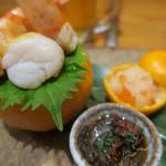 露石 - 料理写真:前菜です
