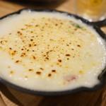 フワット まるやまキッチン - ホタテアスパラグラタン