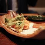 癒宴 - 野菜の天婦羅☆