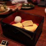 癒宴 - 名古屋コーチンのふわふわ出汁巻き☆