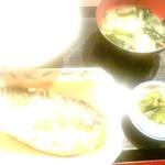 玉菊 - サバ味噌煮定食:600円