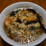 つの田食堂 - 料理写真:うま煮ラーメン