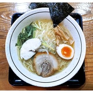 めんりすと - 料理写真:「ゆずしお」(2016.12)