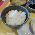シムラホール - ランチのご飯