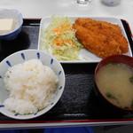 食堂 鈴や - 料理写真:ササミカツ定食♡