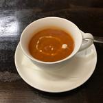 ケバブビリヤニハウス - トマトスープ