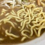 ばかあたり - 麺(小田急新宿店の北海道物産展)